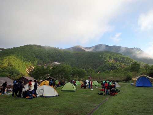 第28回札幌地区高等学校春季登山大会3