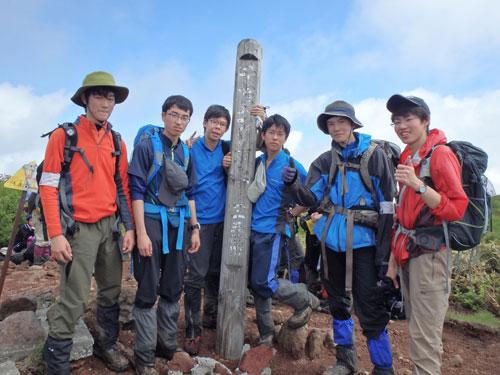 第28回札幌地区高等学校春季登山大会1